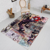 Customized Indoor Printed Floor Carpet Area Rug