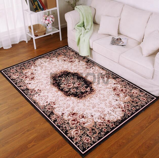 Persian Style Print Floor Carpet Rectangle Area Rug