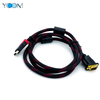 YCOM HDMI To VGA Cable For Desktop Laptop