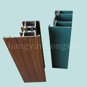 high quality powder coated aluminum casement window frame