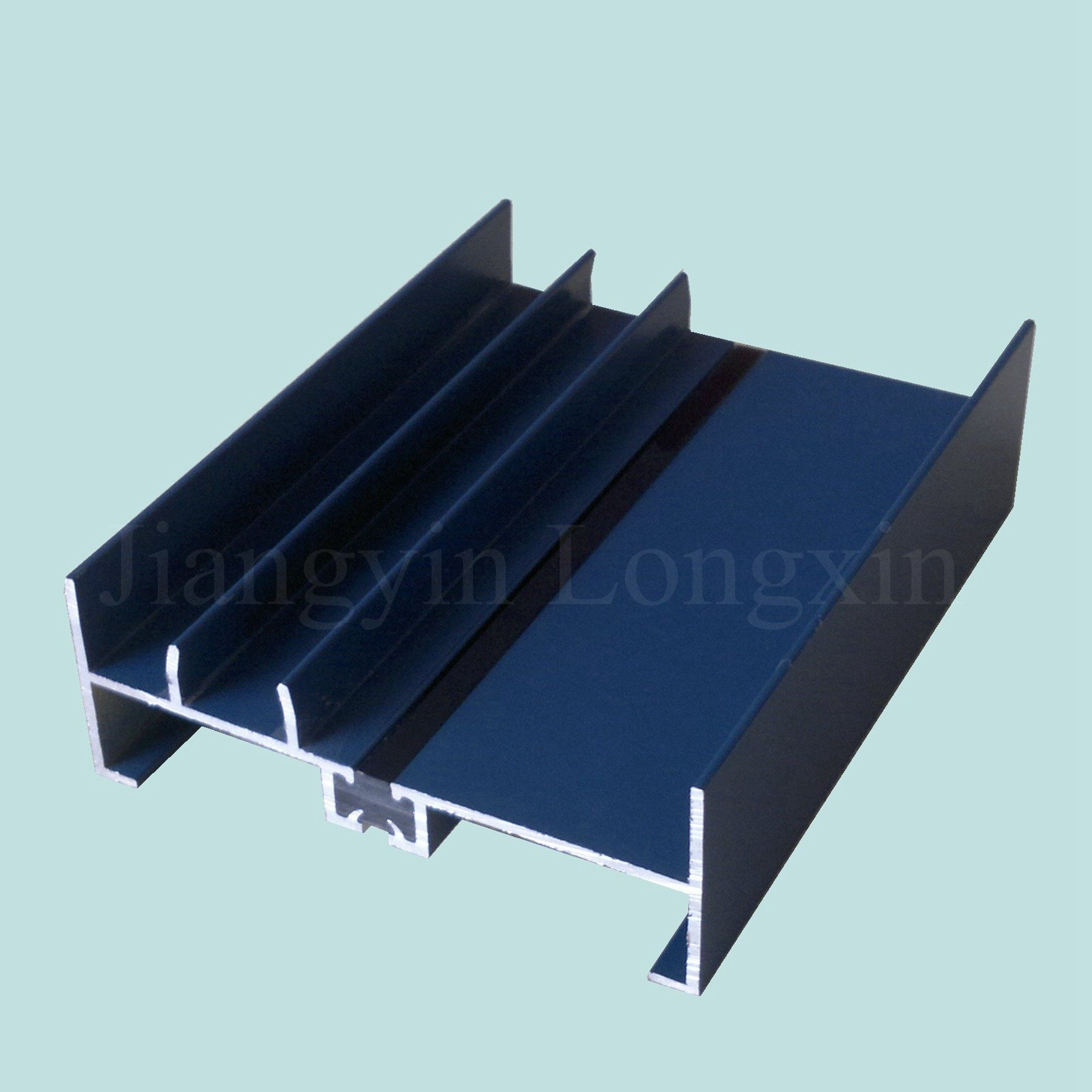 Blue Powder Coated Aluminium Extrusion for Windows
