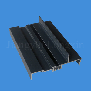 Green Powder Coated Aluminum Frame for Windows and Doors