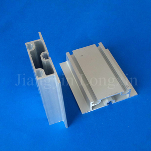 Matt Silver Anodized Aluminium Profile for Industry