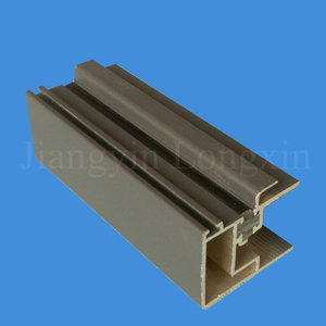 Grey Coating Aluminum Frame for Windows, Thermal Break