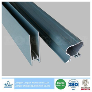 Blue Powder Coated Aluminium Frame for Sliding Door