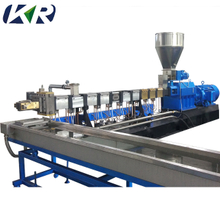 Mini Plastic Pellet Polymer Compounding Twin Screw Extruder Price
