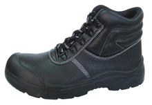 0145 buffalo leather pu sole safety work shoes