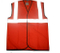 Red polyester reflective safety vest supplier in China