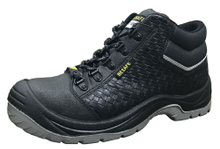 New design microfiber leather pu sole safety shoes