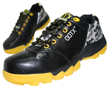 Leather Composite Toe Kevlar Plate Antistatic Supper Light Safety Shoes