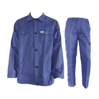 M1108 two pieces poly-cotton safety workwear