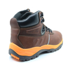 ENS023 new style oil resistant anti static genuine leather boots safety shoes
