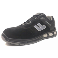ETPU01 suede leather sport work shoes with composite toe cap