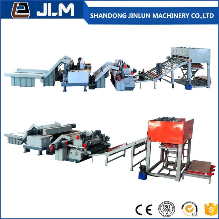 2600mm Veneer Peeling and Cutting Production Line
