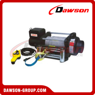 DS-KDJ-12000L 12000lbs 12V DC CE Approval Electric Winch with Remote Control