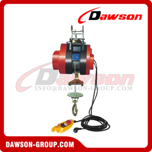 Suspension Mini Electric Wire Rope Hoist for Ware House