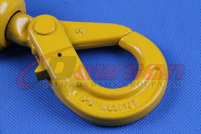 G80 Grade 80 Clevis Swivel Selflock Hook for Lifting Slings - Dawson Group Ltd. - China Supplier