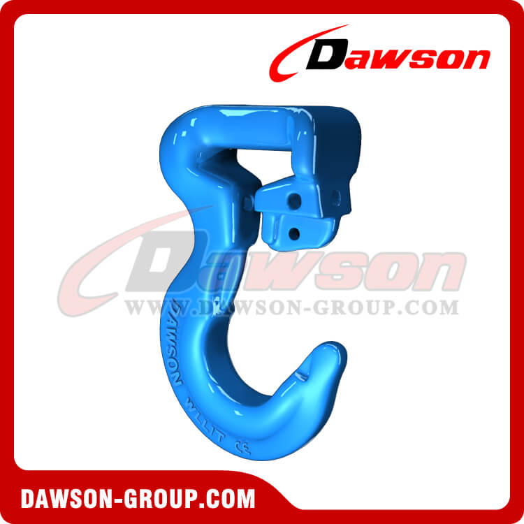 G100 Synthetic Sling Hook with Latch for Lifting Slings - China Manufacturer Supplier, Exporter