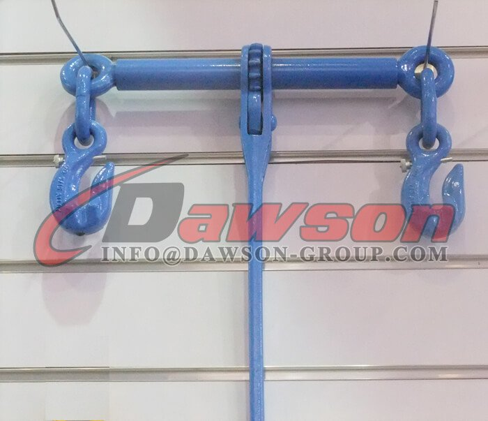 G100 Ratchet Type Load Binder with Safety Hooks - China Manufacturer Supplier, Factory - Dawson Group Ltd