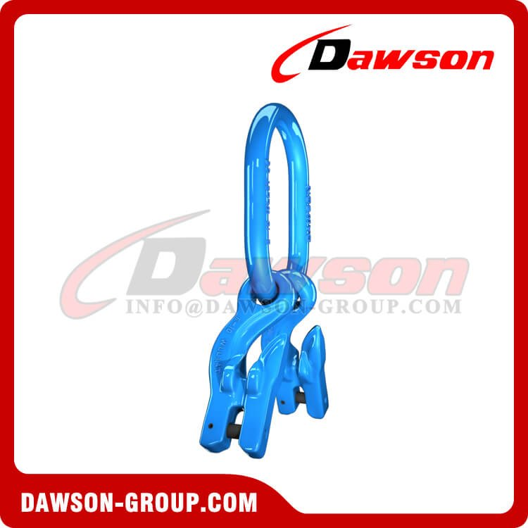 G100 Master Link + G100 Eye Grab Hook with Clevis Attachment × 2 - Dawson Group Ltd. - China Manufacturer,Supplier, Factory