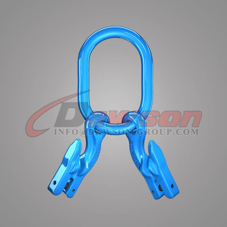 Grade 100 Master Link for Chain Slings + Grade 100 Eye Grab Hook with Clevis Attachment × 2 - Dawson Group Ltd. - China Manufacturer, Supplier, Factory