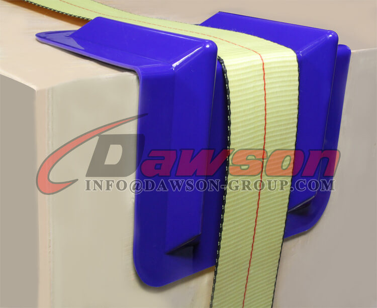 Application of Ratchet Tie Down Lashing Strap Plastic Edge Protector U.S. Market, America Market - Dawson Group Ltd. - China Manufacturer, Factory