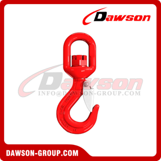 DS268 G80 Swivel Hook with Latch for Lifting Chains