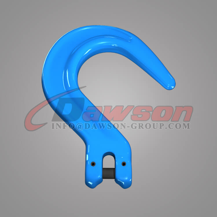 G100 Clevis Foundry Hook, Grade 100 Forged Steel Clevis Type Large Opening Hook - Dawson Group - China Supplier, Factory