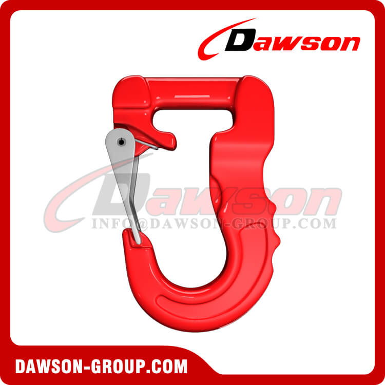 Grade 100 Web Sling Hook, Synthetic Alloy Round Sling Hook 5T - Dawson Group Ltd. - China Factory