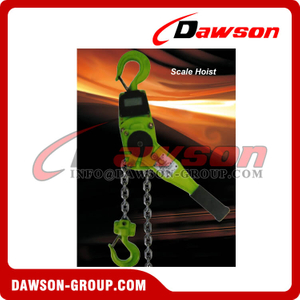 Crane Scale Lever Hoist with Display for 1 Ton and 2 Ton