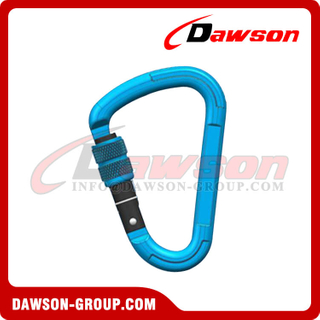 DS7107BAluminium Carabiner Snap Hook, Rock Climbing Buckle