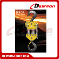 DS-DF-C 50T, 60T Chain Hoist, Chain Block