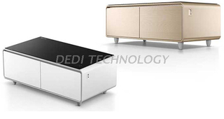 Dedi Refrigerator Coffee Table with smart touch control