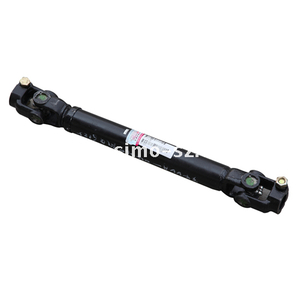 propeller shaft, rubber sleeve of balance bar, shock absorber