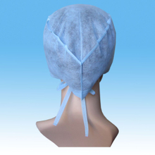 Disposable Medical Doctor Cap Nonwoven Cap Sterile Surgical Doctor Cap