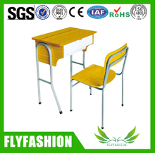 school furntiure student study desk and chair for classroom (SF-66S)