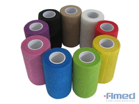 Medical Self Adhesive Bandage Wrap with Different Colors