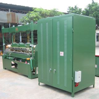 25 KW High Frequency PVC Bath Curtain Welding Machine, Automatic Shower Curtain Making Machine