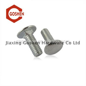 DIN608 Flat Countersunk Square Neck Bolts with Short Square Carriage Bolt for Wood
