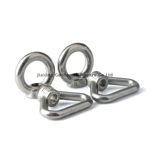m16 metric 316 stainless steel female lifting eye nuts