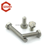 Metric m30 stainless steel heavy hex bolt used on the machine