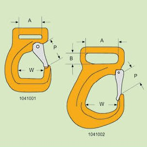 G80 EYE BELT HOOK