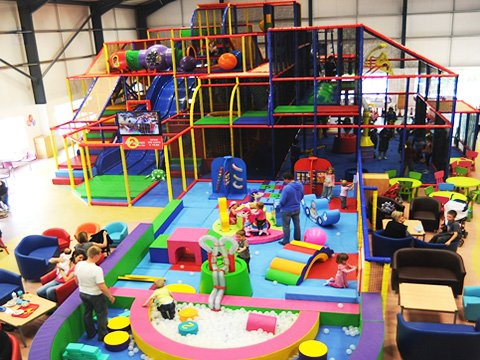 What's commercial indoor playgrounds