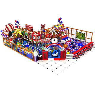 Customized Colorful Indoor Playground Commercial Soft Play Equipment