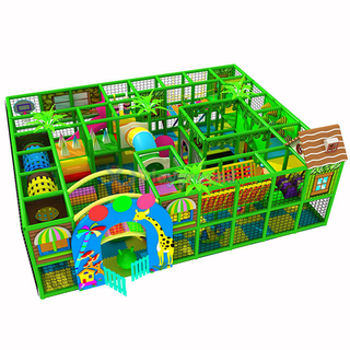 Jungle Gym Adventure Indoor Playground with Soft Play