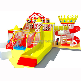Customized New Design Indoor Soft Contained Play Structure for Children