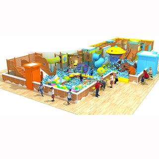 Customized Design Amusement Park Indoor Soft Play Structure for Kids