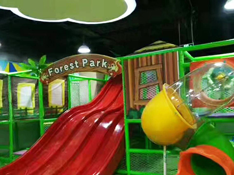 Jungle Themed Soft Indoor Playground Case in UK