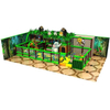 Jungle Themed Amusement Park Small Children Indoor Playground