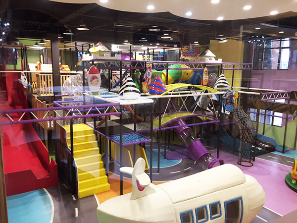 Commercial Children Amusement Park Indoor Playground Equipment